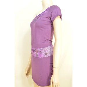 Decko Tops - Decko top SZ 2 NWT purple Deluxe Couture lace plas